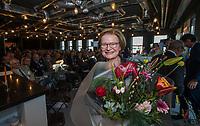 UTRECHT -  echtgenote van  aftredend president, Willem Zelsmann,   Algemene Ledenvergadering van de Nederlandse Golf Federatie NGF.   COPYRIGHT KOEN SUYK