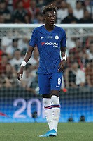 ISTANBUL, TURKEY - AUGUST 14: Tammy Abraham of Chelsea looks on during the UEFA Super Cup match between Liverpool and Chelsea at Vodafone Park on August 14, 2019 in Istanbul, Turkey. (Photo by MB Media/Getty Images)