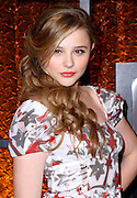 Chloe Moretz attends The Comedy Awards taping at the Hammerstein Ballroom in New York City on March 26, 2011.
