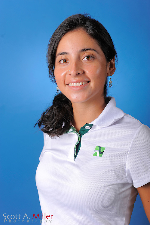Juliana Murcia Ortiz during a portrait session prior to the second stage of LPGA Qualifying School at the Plantation Golf and Country Club on Sept. 24, 2011 in Venice, FL...©2011 Scott A. Miller