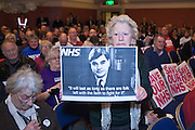 June Hautout, the Andrew Landsley heckler. This week as the governments controversial Health and Social Care Bill enters its final stages in the House of Lords, patients, health workers and campaigners are to come together on Wednesday for a TUC-organised Save Our NHS rally in Westminster. On Wednesday (7 March 2012) over 2,000 nurses, midwives, doctors, physiotherapists, managers, paramedics, radiographers, cleaners, porters and other employees from across the health service will join with patients to fill Central Hall Westminster. Once inside they will listen to speeches from politicians, fellow health workers, union leaders and health service users.