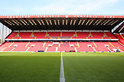 The Valley during the Sky Bet Championship match between Charlton Athletic and Burnley at The Valley, London, England on 7 May 2016. Photo by Matthew Redman.