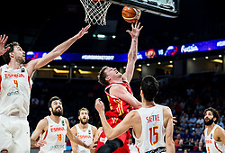 Dmitrii Kulagin of Russia during basketball match between National Teams  Spain and Russia at Day 18 in 3rd place match of the FIBA EuroBasket 2017 at Sinan Erdem Dome in Istanbul, Turkey on September 17, 2017. Photo by Vid Ponikvar / Sportida