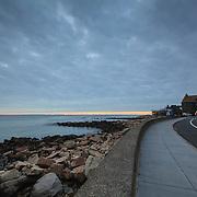 Today's Fall Sunrise  at Narragansett Town Beach, Narragansett, RI,  November  29, 2013. #waves #beach #rhodeisland #sunrise