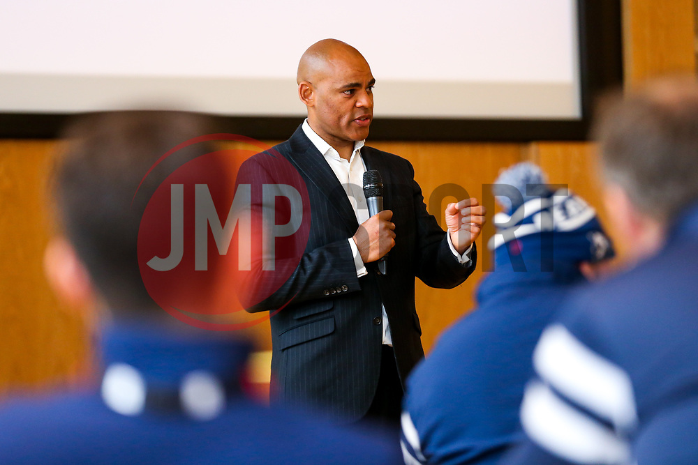 Bristol Bears visit Mayor of Bristol Marvin Rees at City Hall to discuss what they can do to help support the local communities in and around Bristol - Rogan/JMP - 16/04/2019 - RUGBY UNION - City Hall, College Green - Bristol, England.