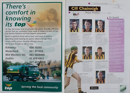 All Ireland Senior Hurling Championship Final,.08.09.2002, 09.08.2002, 8th September 2002,.Senior Kilkenny 2-20, Clare 0-19,.Minor Kilkenny 3-15, Tipperary 1-7,.8092002AISHCF,.