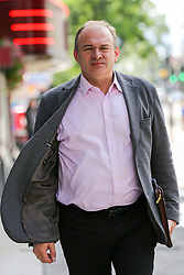 """© Licensed to London News Pictures. 20/07/2019. London, UK. Liberal Democrat leadership contender ED DAVEY arrives for the Social Liberal Forum conference in north London to speak on """"Climate Justice - How to Decarbonise Capitalism and Tackle Poverty"""". Photo credit: Dinendra Haria/LNP"""