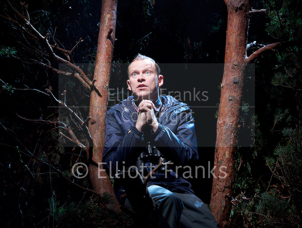 Neville's Island <br /> by Tim Firth <br /> at Duke of York's Theatre, London, Great Britain <br /> 17th October 2014 <br /> press photocall<br /> <br /> <br /> <br /> Robert Webb as Roy <br /> <br /> <br /> <br /> <br /> <br /> <br /> Photograph by Elliott Franks <br /> Image licensed to Elliott Franks Photography Services