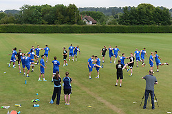 Bristol Rovers return to training ahead of their 2015/16 Sky Bet League Two campaign  - Photo mandatory by-line: Dougie Allward/JMP - Mobile: 07966 386802 - 02/07/2015 - SPORT - Football - Bristol - Friends Life Training Ground - Bristol Rovers Pre-Season Training