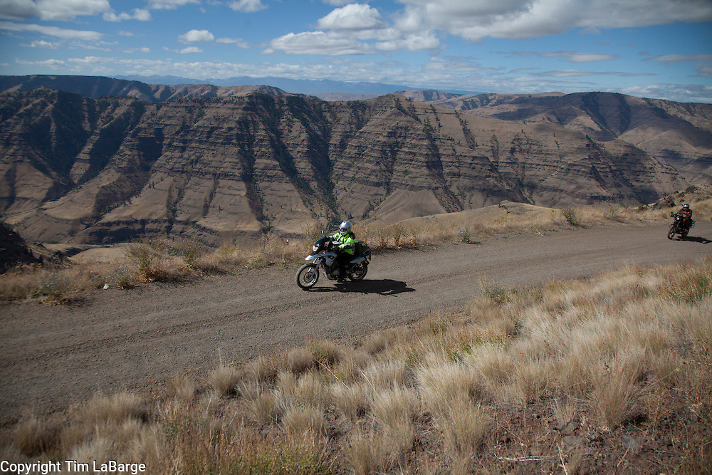 in the northeastern corner of Oregon during a gathering of dual sport enthusiasts in early September of 2012. The event was coordinated by BMW Motorcycles of Western Oregon. Photography © Tim LaBarge 2012