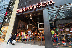 Superdry Store shop in Dubai Mall Dubai United Arab Emirates