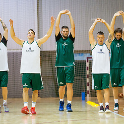 20170719: SLO, Basketball - Training of Slovenian national basketball team