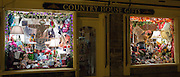 Window display of gift and souvenirs shop, Country House Gifts, on Burford High Street, The Cotswolds