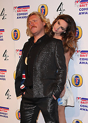 KELLY BROOK AND KEITH LEMON attends the British Comedy Awards at Fountain Studios, London, England, December 12, 2012. Photo by i-Images.
