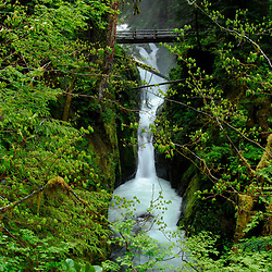 Sol Duc Falls, Olympic National Park, Washington, US