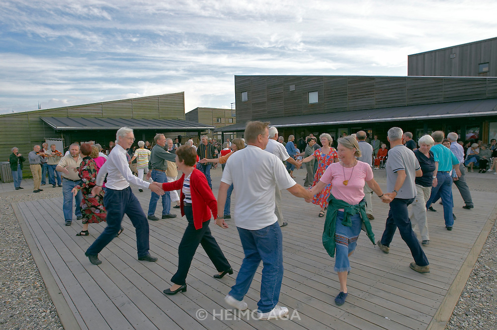 Folk dance at the Viking Boat Museum.