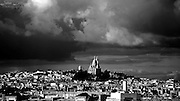 Sacre Coeur in Paris, France.
