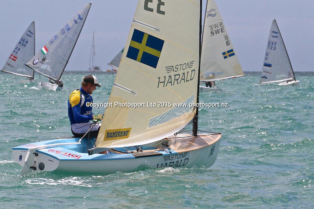 Race 6 Finn Gold Cup Takapuna Max Salminen (SWE)