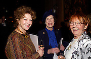 Vera Batchelor, Elizabeth Walton and Princess  Valentina Polukhina. Sergei Chepik: St Paul's Cathedral - opening<br />