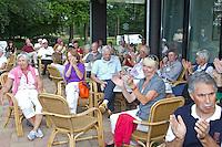 ARNHEM - Prijsuitreiking . Op de golfbaan de Rosendaelsche in Arnhem  het Internationaal Senioren Strokeplay Kampioenschap  FOTO KOEN SUYK