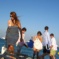 **EXCLUSIVE**.Princess Beatrice, Princess Eugenie with thier boyfriends.Club 55 Restaurant .St. Tropez, France..Sunday, July 29, 2007.Photo By Celebrityvibe.com.To license this image please call (212) 410 5354; or.Email: celebrityvibe@gmail.com ;.