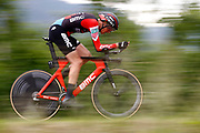 Kilian Frankiny (SUI - BMC) during the 101th Tour of Italy, Giro d'Italia 2018, stage 16, Trento - Rovereto 34.5 km on May 22, 2018 in Italy - Photo Luca Bettini / BettiniPhoto / ProSportsImages / DPPI