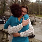 Persviewing de Erfenis, Sonja Silva + Michiel de Jong