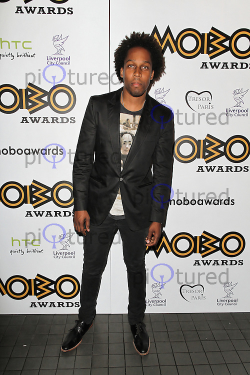 LONDON - SEPTEMBER 17: Lemar attended the Nominations Launch of the MOBO Awards at Floridita London, UK. September 17, 2012. (Photo by Richard Goldschmidt)