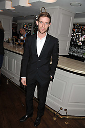 LUKE TREADAWAY at Shepherd's Delight an evening of Dinner & Entertainment in aid of The National Youth Theatre of Great Britain held at Shepherd's, Marsham Street, London on3rd December 2012.