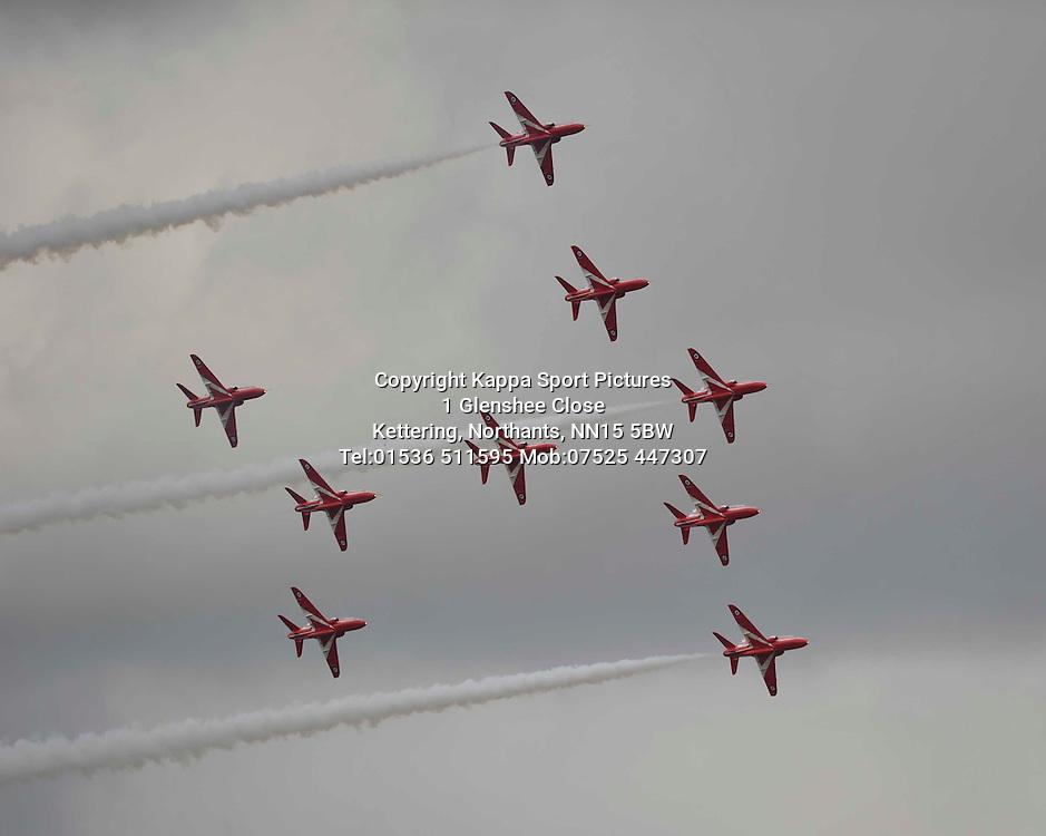 The Red Arrows, Royal International Air Tattoo, RAF Fairford, Gloustershire, 16th July 2015 Royal International Air Tattoo, RAF Fairford, Glostershire, 16th July 2015