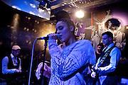 Frankfurt am Main | 19 Dec 2013<br /> <br /> Rola &amp; Alive Band live im Travolta in der Br&ouml;nnerstra&szlig;e in Frankfurt am Main, hier: Rola und die Alive Band.<br /> <br /> &copy;peter-juelich.com<br /> <br /> [No Model Release | No Property Release]