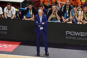 DESCRIZIONE : Madrid Eurolega Euroleague 2014-15 Final Four Semifinal Semifinale Real Madrid Fenerbahce Ulker Istanbul <br /> GIOCATORE : Zeljko Obradovic<br /> SQUADRA : Fenerbahce Ulker Istanbul<br /> CATEGORIA : ritratto delusione<br /> EVENTO : Eurolega 2014-2015<br /> GARA : Real Madrid Fenerbahce Ulker Istanbul <br /> DATA : 15/05/2015<br /> SPORT : Pallacanestro<br /> AUTORE : Agenzia Ciamillo-Castoria/GiulioCiamillo<br /> Galleria : Eurolega 2014-2015<br /> DESCRIZIONE : Madrid Eurolega Euroleague 2014-15 Final Four Semifinal Semifinale Real Madrid Fenerbahce Ulker Istanbul