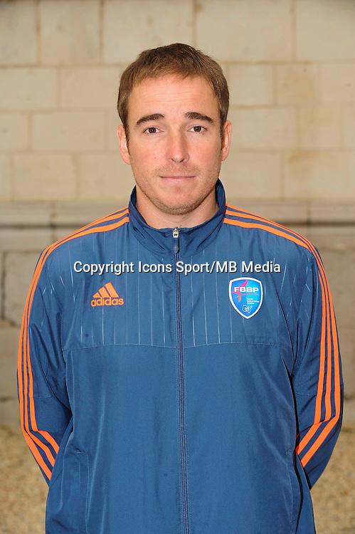 Freddy MOREL - 26.09.2015 - Photo officielle Bourg en Bresse Peronnas - Ligue 2<br /> Photo : Jean Paul Thomas / Icon Sport
