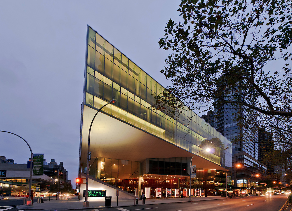 Alice Tully Hall, Lincoln Center for the Performing Arts, Diller Scofidio + Renfro in collaboration with FxFowle Architects, Manhattan,New York City, New York, USA