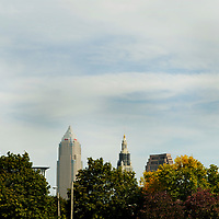 Cleveland OHIO Skyline