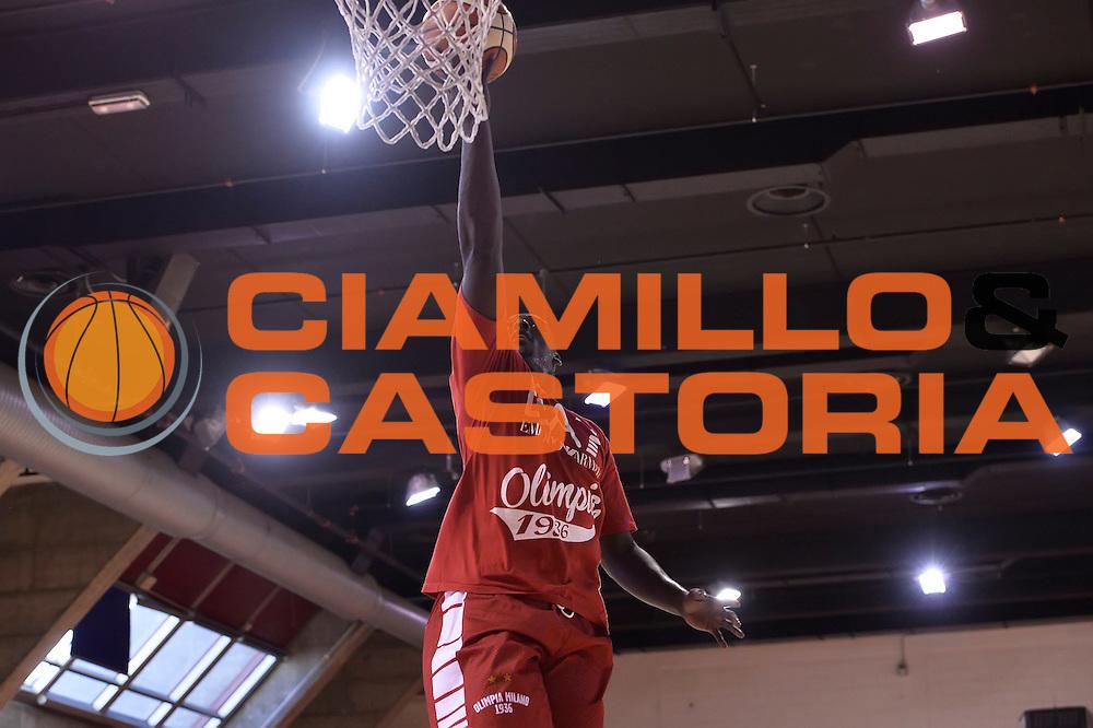 Rakim Sanders <br /> Allenamento EA7 Emporio Armani Olimpia Milano <br /> Lega Basket Serie A 2016/2017<br /> Milano 23/08/2016<br /> Foto Ciamillo-Castoria