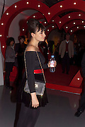 GIZZI ERSKINE, Tunnel of Love. Funfair party The Mending Broken Hearts appeal In aid of the British Heart Foundation. Victoria House, Bloomsbury. London. 17 May 2011. <br /> <br />  , -DO NOT ARCHIVE-© Copyright Photograph by Dafydd Jones. 248 Clapham Rd. London SW9 0PZ. Tel 0207 820 0771. www.dafjones.com.