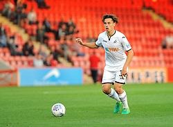 Jack Evans of Swansea City U21 - Mandatory by-line: Nizaam Jones/JMP - 15/08/2017 - FOOTBALL - LCI Rail Stadium - Cheltenham, England - Cheltenham Town v Swansea City U21 - Checkatrade Trophy