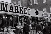 Camden Market, London, UK, 1984