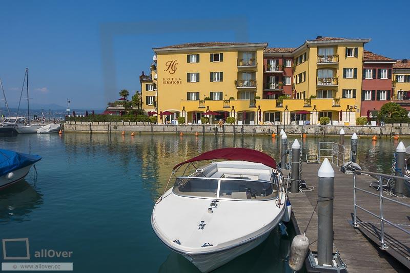 Hotel Sirmione, Sirmione on Lake Garda, Gardasee, Brescia, Lombardy, Italy, Sirmione