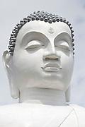 The 88 feet (27 m) Buddha Statue on top of the Ethagala. Kurunegala, Sri Lanka.