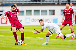 Edin Sehic of NK Rudar Velenje during football match between NK Triglav Kranj and NK Rudar Velenje in Round #27 of Prva Liga Telekom Slovenije 2017/18, on April 15, 2018 in Sports park Kranj, Kranj, Slovenia. Photo by Ziga Zupan / Sportida