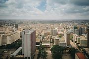 Kenia 2017: Vista di Nairobi dal Kenyatta International Convention Centre