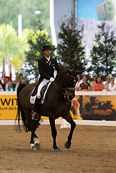 Peters Steffen (USA) - Ravel<br /> WDM Dressage St Lazare Canada 2012<br /> © Hippo Foto - Cealy Tetly