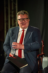 Pictured: Tom Watson<br /> <br /> Jeremy Corbyn, leader of the Labour Party, and Tom Watson MP, shadow secretary of state for culture, media and sport, headed to the Lower Hall New Town Theatre to meet creative workers at the Edinburgh Fringe today.<br /> 27 August 2017