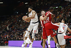November 17, 2017 - Milan, Milan, Italy - Augustine Rubit (#21 Brose Bamberg) during a game of Turkish Airlines EuroLeague basketball between  AX Armani Exchange Milan vs Brose Bamberg at Mediolanum Forum, on November 17, 2017 in Milan, Italy. (Credit Image: © Roberto Finizio/NurPhoto via ZUMA Press)