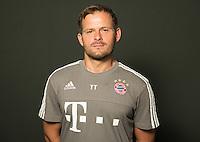 German Soccer Bundesliga 2015/16 - Photocall of FC Bayern Munich on 16 July 2015 in Munich, Germany: goalkeeping-coach Toni Tapalovic