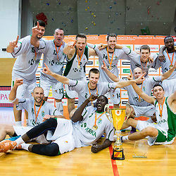 20140930: SLO, Basketball - Superpokal Sencur 2014, KK Krka vs KK Union Olimpija