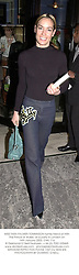 MISS TARA PALMER-TOMKINSON family friend of HRH The Prince of Wales, at a party in London on 14th January 2002. OWL 116