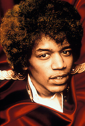 Aug 05, 1966 - London, England, UK - American guitarist, singer and songwriter JIMI HENDRIX (November 27, 1942 Ð September 18, 1970) headlined the iconic 1969 Woodstock Festival. He is considered one of the greatest and most influential guitarists in rock music history. Hendrix was inducted into the Rock and Roll Hall of Fame in 1992 and the UK Music Hall of Fame in 2005. His star on the Hollywood Walk of Fame was dedicated in 1994. Rolling Stone named Hendrix number 1 on their list of the 100 Greatest Guitarists of All Time in 2003. PICTURED: Portrait of Jimi Hendrix. (Credit Image: © Pictorial Press Limited/ZUMA Press)